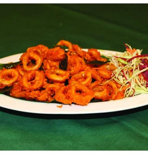 Baby Squid Varathathu - Fry