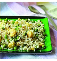 Corn Peas Fried Rice