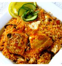 Fish Biryani - Rawas