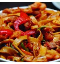 Veg Malaysian Flat Noodles