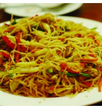 Veg Singapore Noodles